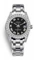Đồng hồ Rolex Pearlmaster 81159 34mm vàng trắng nạm kim cương