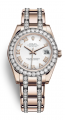 Đồng hồ Rolex Pearlmaster 81285 34mm vàng hồng nạm kim cương