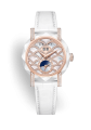Đồng hồ Graff GraffStar Icon Automatic Rose Gold Pavé Diamond White Ceramic GSA38WCPGSLDMPWL