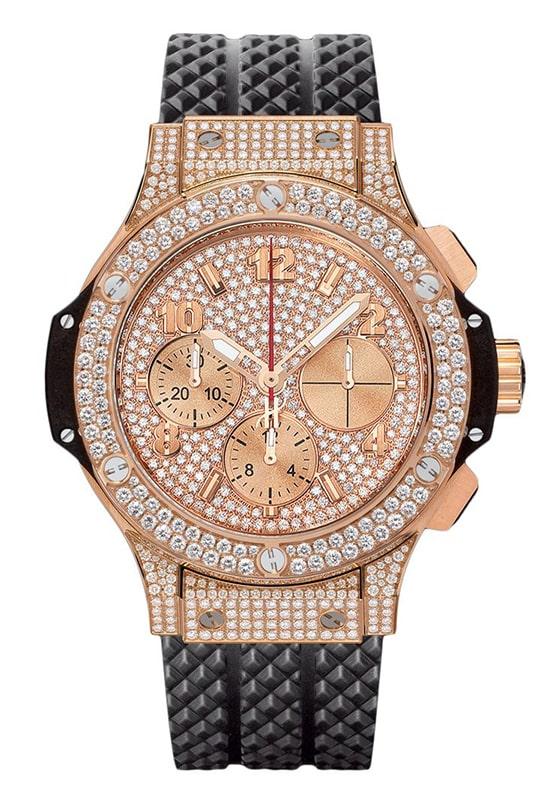 Hublot Big Bang Chronograph 41mm Midsize Watch 341.px.9010.rx.1704