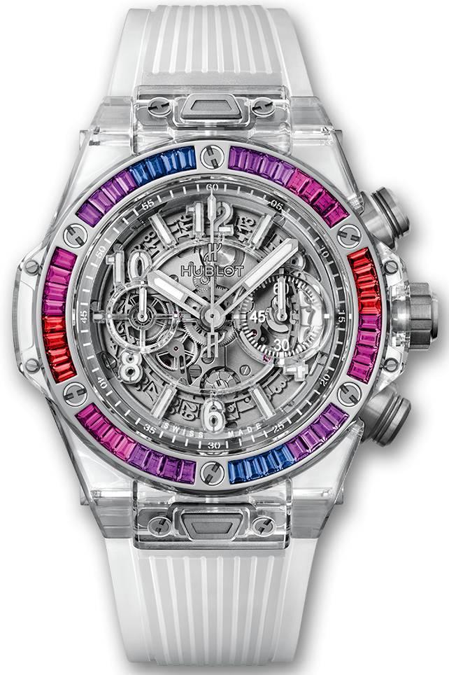 Đồng hồ Hublot Big Bang Unico Sapphire Galaxy 45mm 411.JX.4803.RT.4098 – Limited to 50 pieces