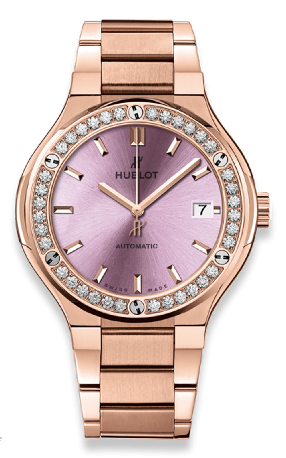 Đồng hồ Hublot Classic Fusion Automatic King Gold Pink 38 mm – 568.OX.891P.OX.1204