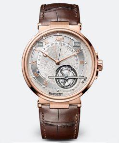 Đồng hồ Breguet Marine · Équation Marchante 5887BR/12/9WV