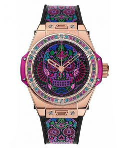 Đồng hồ nữ Hublot Big Bang One Click Calavera Catrina King Gold 465.OX.1190.VR.1299.MEX18