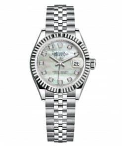 Mặt số của Rolex Lady Datejust 279174 có khả năng bắt sáng tốt