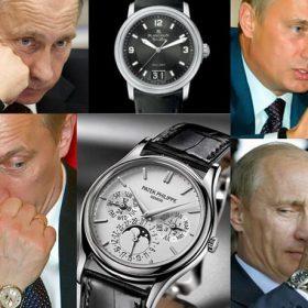 Siêu Phẩm Đồng Hồ Patek Philippe Geneve Trên Tay Tổng Thống Nga Putin