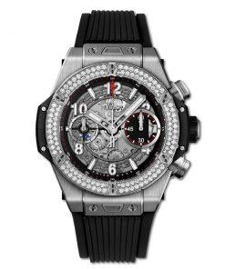 Đồng hồ Hublot Big Bang Unico Titanium Diamond 42 mm - 441.NX.1170.RX.1104