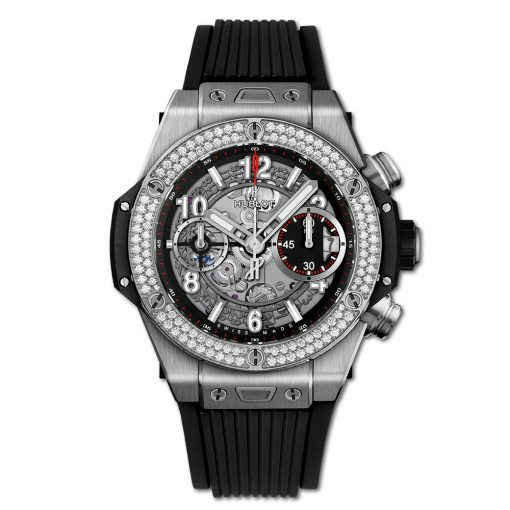 Đồng hồ Hublot Big Bang Unico Titanium Diamond 42 mm - 441.NX.1170.RX.1104