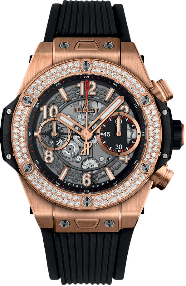Đồng hồ Hublot Big Bang Unico King Gold Diamonds 42 mm - 441.OX.1180.RX.1104