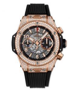 Đồng hồ Hublot Big Bang Unico King Gold Diamonds 42 mm - 441.OX.1180.RX.1704