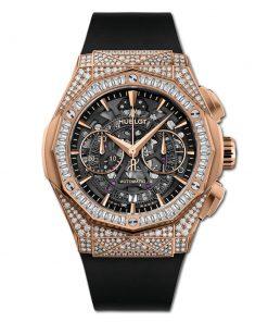 Đức tín luxury - Đồng hồ Hublot Classic Fusion AeroFusion Chronograph Orlinski King Gold Jewellry 45 mm - 525.OX.0180.RX.0904.ORL19