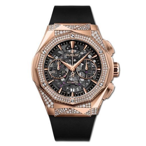 Đức tín luxury - Đồng hồ Hublot Classic Fusion AeroFusion Chronograph Orlinski King Gold Alternative 45 mm - 525.OX.0180.RX.1804.ORL19