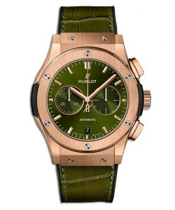 Đức tín luxury - Đồng hồ Hublot Classic Fusion Chronograph King Gold Greens 42 mm - 541.OX.8980.LR