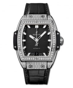 Đức tín luxury - Đồng hồ Hublot Spirit Of Big Bang Titanium Pave 39 mm - 665.NX.1170.LR.1604