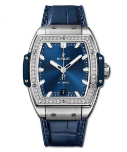Đức tín luxury - Đồng hồ Hublot Spirit Of Big Bang Titanium Blue Diamonds - 665.NX.7170.LR.1204