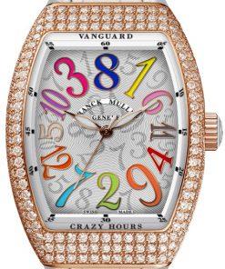 Đồng hồ Franck Muller Vanguard Crazy Hours™ Lady V 35 CH COL DRM D BC 1