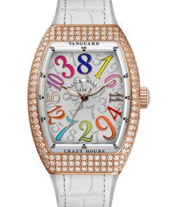 Đồng hồ Franck Muller Vanguard Crazy Hours™ Lady V 35 CH COL DRM D BC