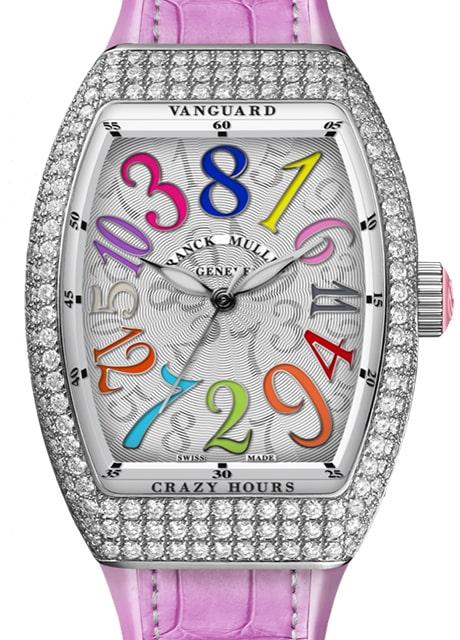 Đồng hồ Franck Muller Vanguard Crazy Hours™ Lady V 35 CH COL DRM D RS 2