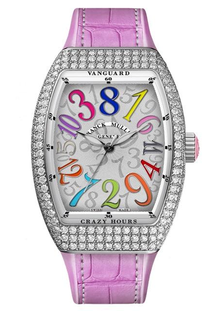 Đồng hồ Franck Muller Vanguard Crazy Hours™ Lady V 35 CH COL DRM D RS