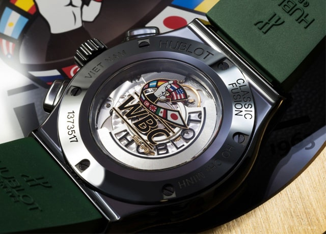Đồng hồ Hublot Classic Fusion Wbc