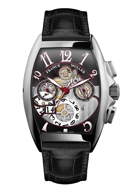 Đồng hồ Franck Muller Cintrée Curvex Grande Date 8083 CC GD SQT OG N