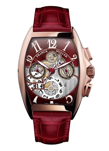 Đồng hồ nam Franck Muller Cintrée Curvex Grande Date 8083 CC GD SQT OG R