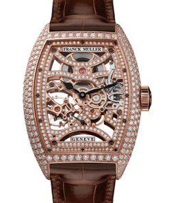 Đồng hồ nam Franck Muller Cintrée Curvex Skeleton 8880 B S6 SQT D MVT D