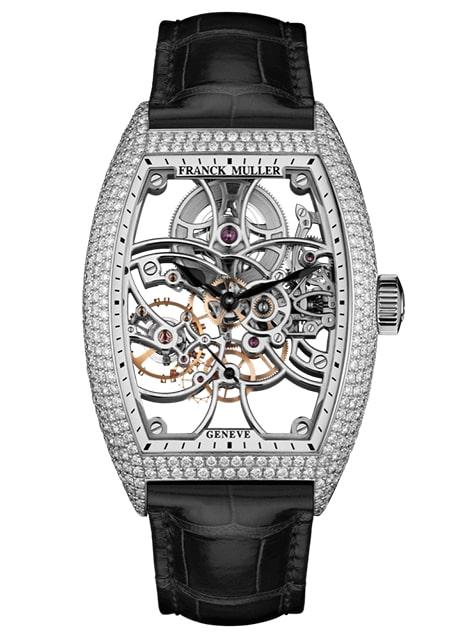 Đồng hồ nam Franck Muller Cintrée Curvex Skeleton 8880 B S6 SQT D