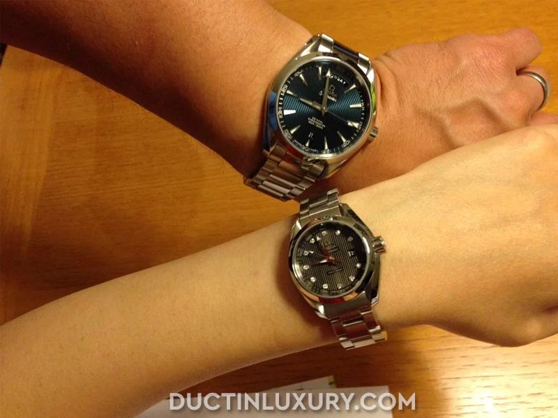 Đồng hồ đôi Omega