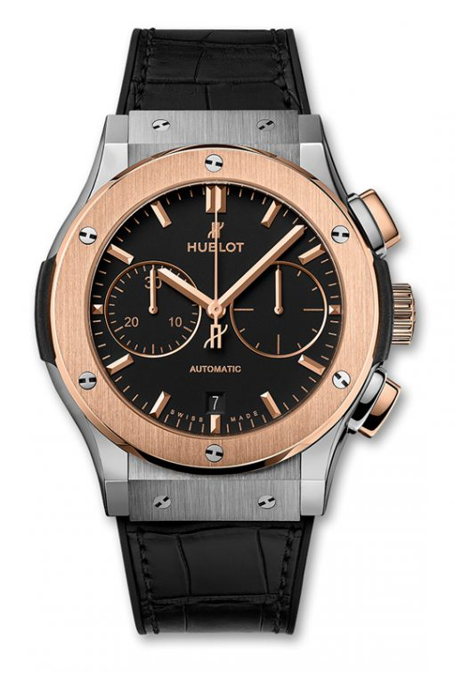 Đồng hồ Hublot Classic Fusion Chronograph Titanium King Gold 45mm 541.CO.1181.RX