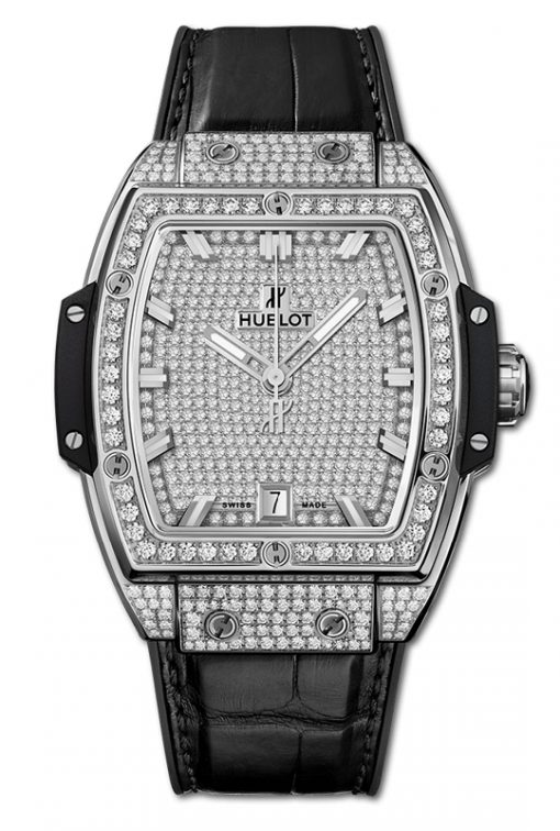 Đồng hồ Hublot Spirit Of Big Bang Titanium Full Pavé 39nm 665.NX.9010.LR.1604