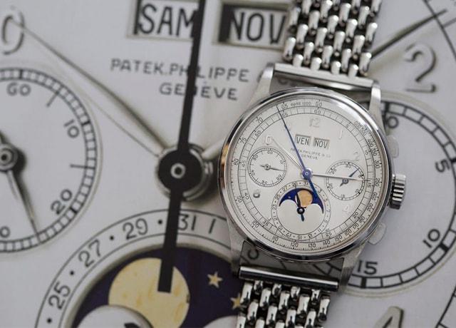 Chiếc đồng hồ nam Patek Philippe đắt nhất trong lịch sử đấu giá thế giới