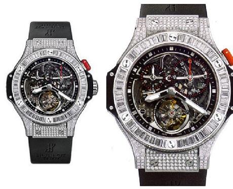 Đồng hồ Hublot nam Bigger Bang Diamond Tourbillon phiên bản giới hạn