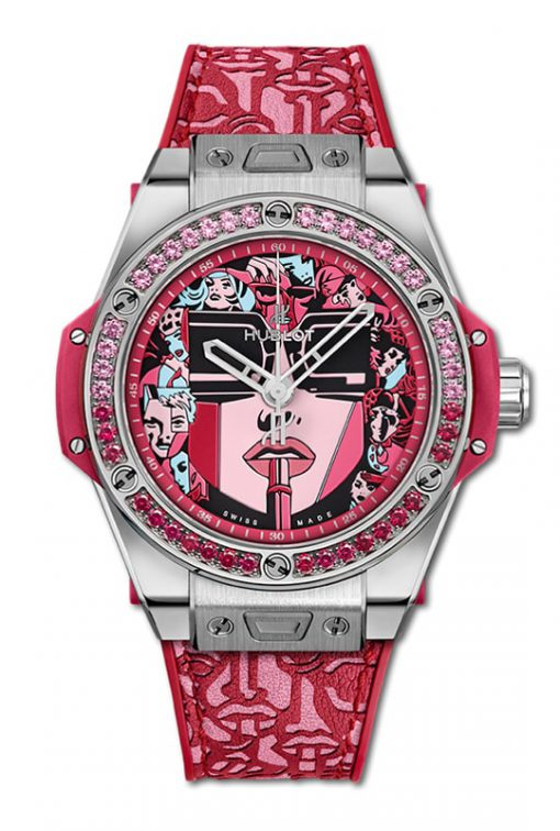 Hublot Big Bang One Click Marc Ferrero Steel Red 39 mm 465.SX.1130.VR.1213.LIP19