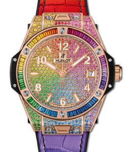 Hublot Big Bang One Click Rainbow King Gold 39 mm 465.OX.9910.LR.0999