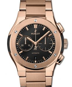 Hublot Classic Fusion Chronograph King Gold Bracelet 42mm 540.OX.1180