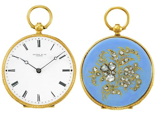 Mẫu đồng hồ bỏ túi màu xanh khiến Nữ hoàng Victoria mê mẩn