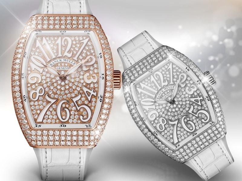 Nhiều bộ sưu tập đồng hồ nữ Franck Muller đã được cho ra mắt và chiếm được tình cảm của giới mộ điệu