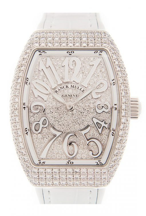 Đồng hồ nữ Franck Muller Vanguard Lady Gold Diamonds 42mm V 32 QZ D