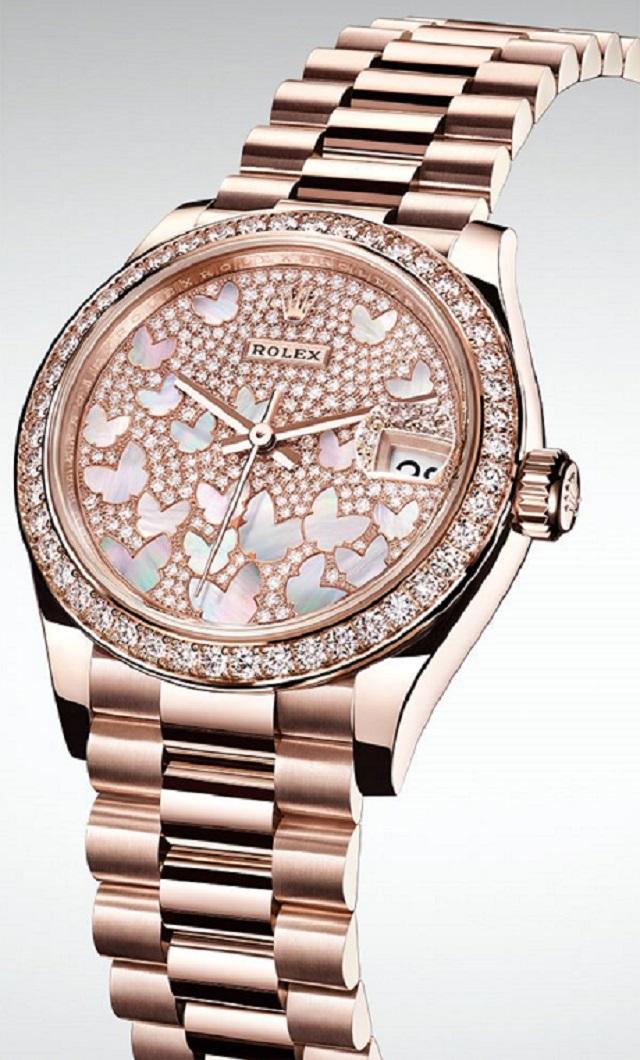 Giá đồng hồ Rolex Datejust 31 278285RBR 31MM: 1 tỷ 316 triệu VNĐ