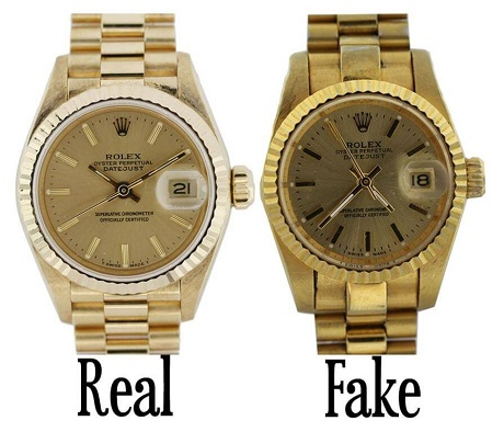 Quan sát mặt số để phát hiện đồng hồ Rolex fake