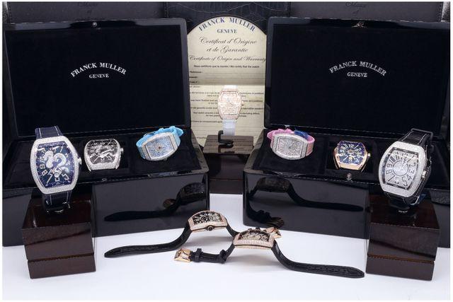 Nhận biết đồng hồ Franck Muller fake quá giá, nơi bán