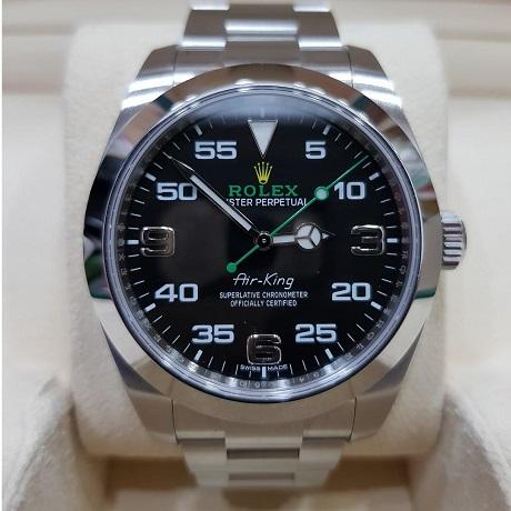 Giá đồng hồ Rolex nam Air-King 116900-0001: 155 triệu VNĐ