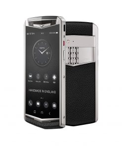 Điện thoại Vertu ASTER P Ti Silver Calf Jade Black