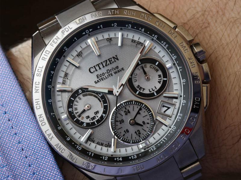 Đồng hồ Citizen - Nguồn năng lượng bất tận từ thiên nhiên