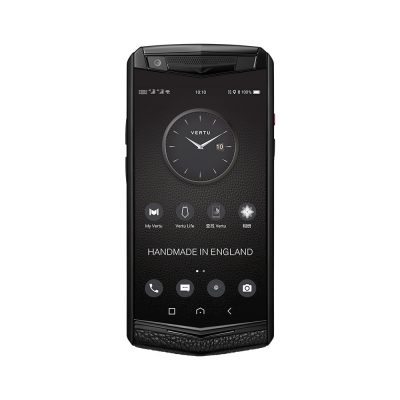 Điện thoại Vertu ASTER P Ti Black Calf Jade Black