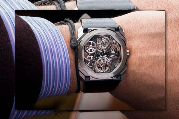 đồng hồ bvlgari Bộ máy hoàn hảo đến từng chi tiết