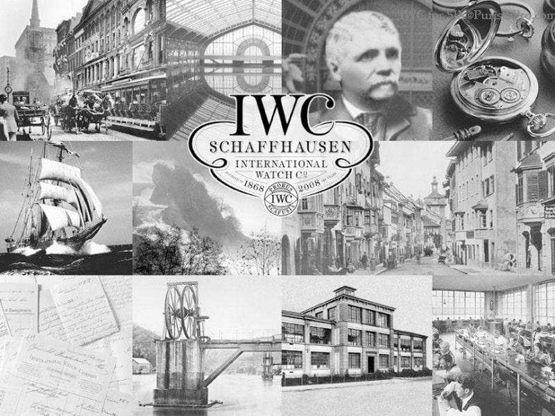 Lịch sử hãng đồng hồ IWC