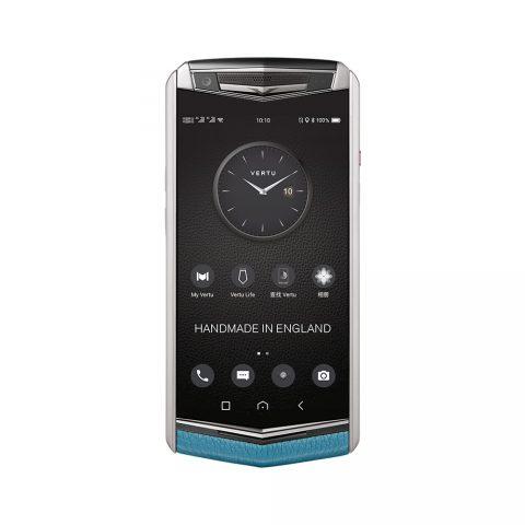 Điện thoại Vertu ASTER P Ti Silver Calf Gentleman Blue