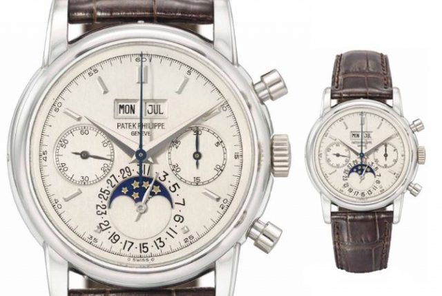 Đồng hồ Patek Philippe Reference 2499/100P Eric Clapton